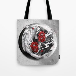 Balance [Yin-yang koi] Tote Bag