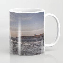 Margate Harbour At Low Tide Coffee Mug