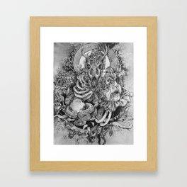 Beauty in the Beast Framed Art Print
