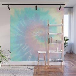Light Rainbow Tie Dye Wall Mural