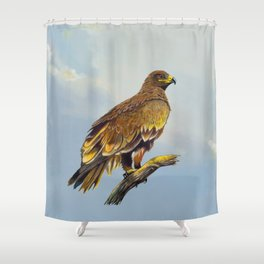 Steppe Eagle Shower Curtain