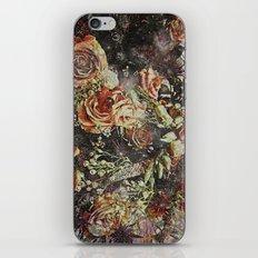 Dramatic Winter Flowers iPhone & iPod Skin