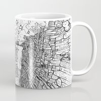 library Mugs featuring the Library by KadetKat