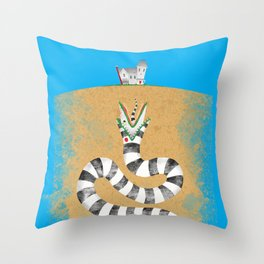 Recently Deceased Throw Pillow