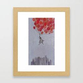The Balloon Girl Framed Art Print