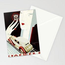 Automotive Art 332 Stationery Cards