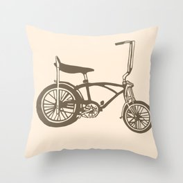 Low Rider Throw Pillow