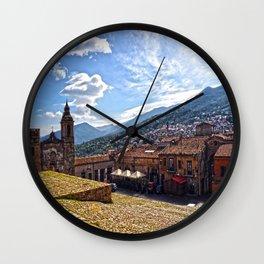 Sicily  Castelbuono Wall Clock