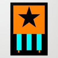 Cap America poster Art Print