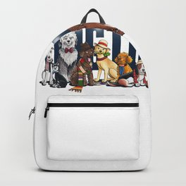 Doctor Who FanArt Dogs Backpack