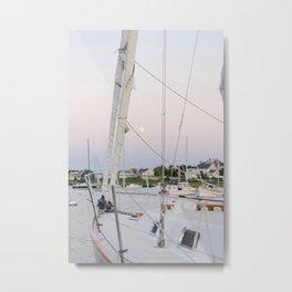 Scituate Sailboat Metal Print