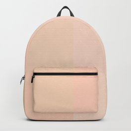 Pastel peach shades Backpack