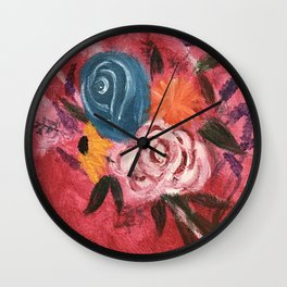 A String of Beauty Wall Clock