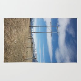 Power lines Rug