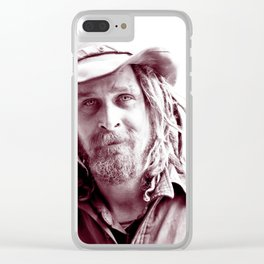 Tranny Danny - The Homeless Derelict Vagabond Clear iPhone Case