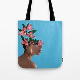 Lady Flowers ||| Tote Bag