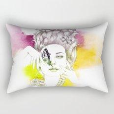 Butterfly Lady Rectangular Pillow
