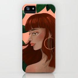 Havana Girl iPhone Case