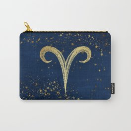 Aries Zodiac Sign Carry-All Pouch