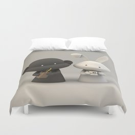 Coffee & Chocolate Milk Duvet Cover