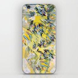 Yellow Flower Storm iPhone Skin