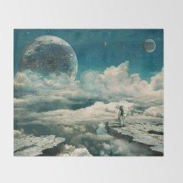 The explorer Throw Blanket
