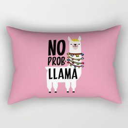 No Prob-Llama Rectangular Pillow