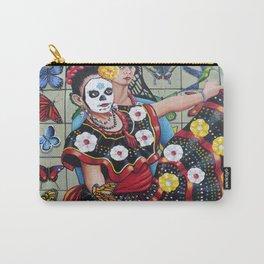 Viva la Vida con Frida Kahlo Carry-All Pouch