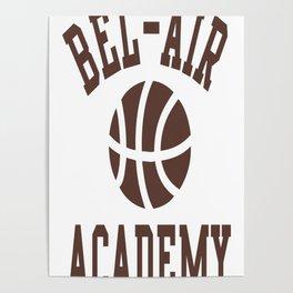 Fresh Prince Bel-Air Academy Basketball Shirt Poster