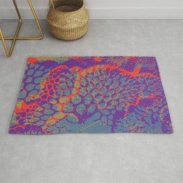 psychedelic beauty Rug