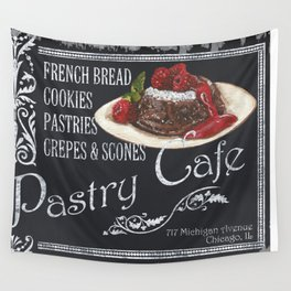 Pastry Cafe Wall Tapestry