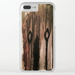 Moan Clear iPhone Case