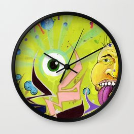 Random Mess Wall Clock