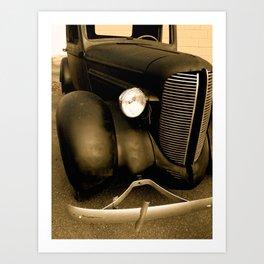 '38 Dodge Pickup Art Print