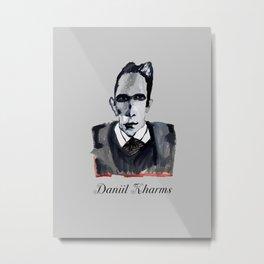 Daniil Kharms - III Metal Print
