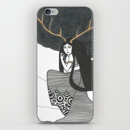 The Winter of Transformation iPhone Skin
