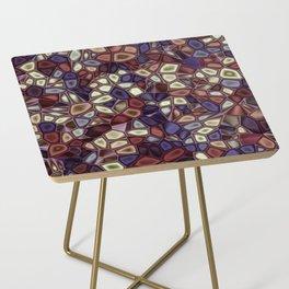 Fractal Gems 01 - Fall Vibrant Side Table