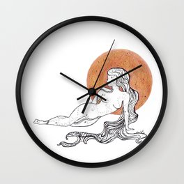 Cosmic Beauty II (Luna) Wall Clock
