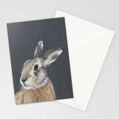 The Hares Stare Stationery Cards