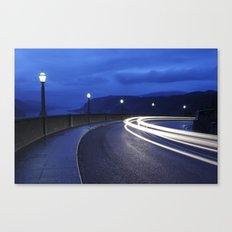 Gorge Traffic. Canvas Print