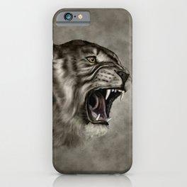 Roaring Liger - Digital Art iPhone Case