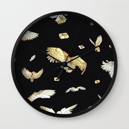 oodles of owls Wall Clock