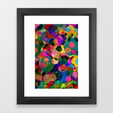 Rainbow Spot Framed Art Print