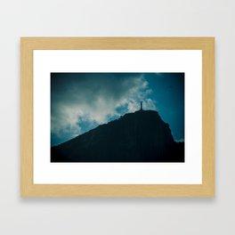 Christ the Redeemer / Cristo Redentor Framed Art Print
