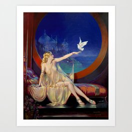 Henry Clive Sultana 1920 Art Print