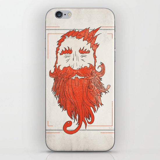Beardsworthy iPhone & iPod Skin