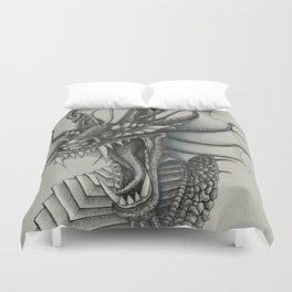 Dragon Bust  Duvet Cover