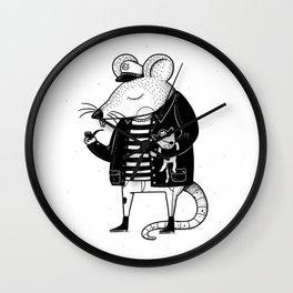 Rat Ship Wall Clock