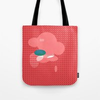 monster Tote Bags featuring Monster by Latidra Washington