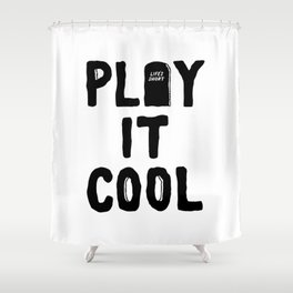 Play It Cool Shower Curtain
